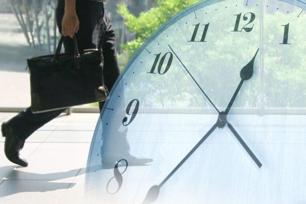 時間とサラリーマン