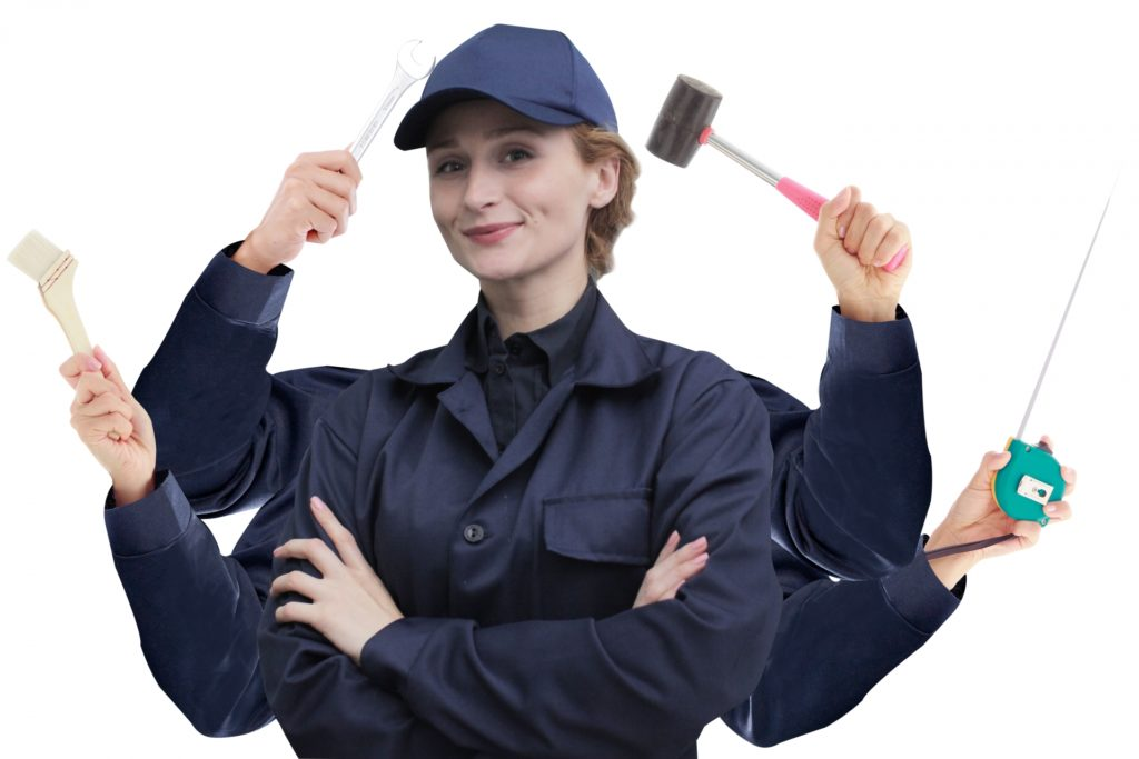 スバル期間工で働く女性