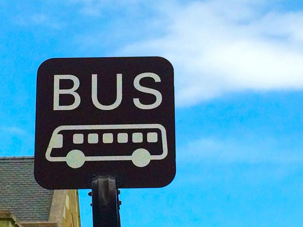 アイシンAW期間工の送迎バス